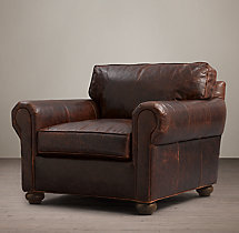 Original Lancaster Leather Chair