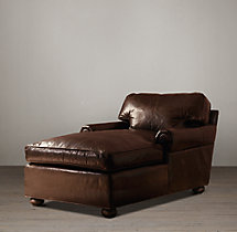 Original Lancaster Leather Chaise