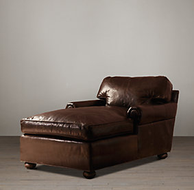 Original Lancaster Leather Sofas Classic Luxe Rh