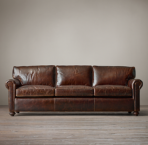 96 Quot Original Lancaster Leather Sofa