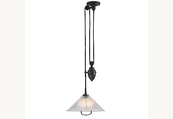 burnham pulley light. Black Bedroom Furniture Sets. Home Design Ideas