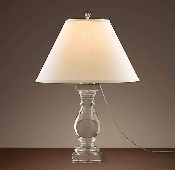 Crystal Banister Table Lamp