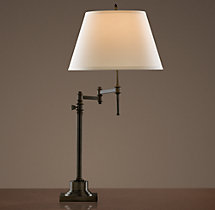 Library Swing-Arm Table Lamp
