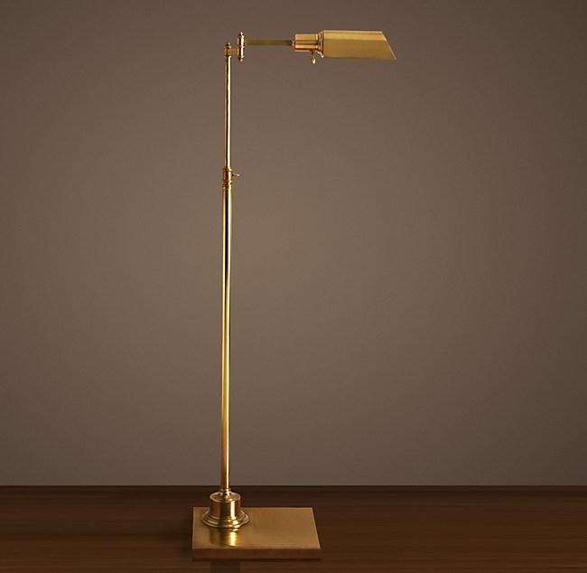 Library Task Floor Lamp