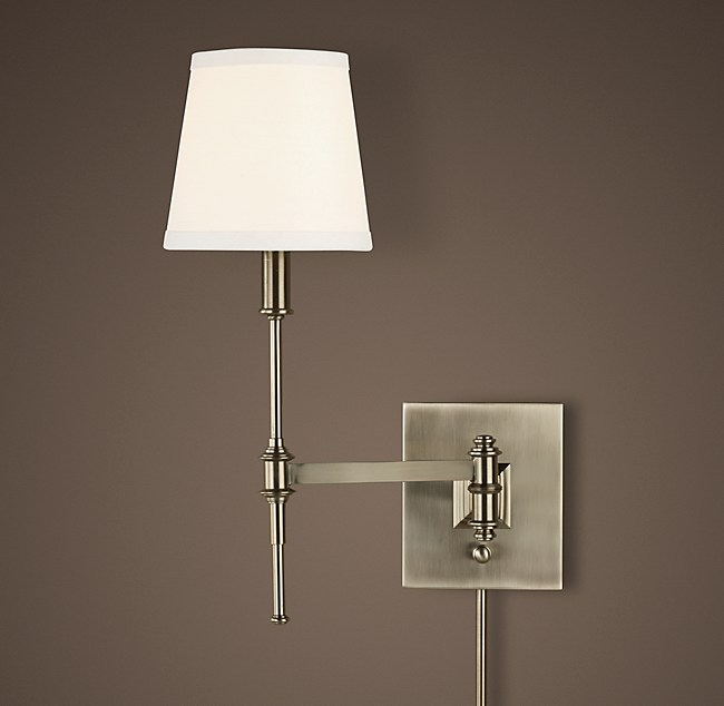 Library Swing Arm Sconce