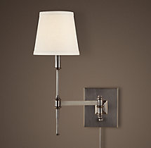 Library Swing-Arm Sconce