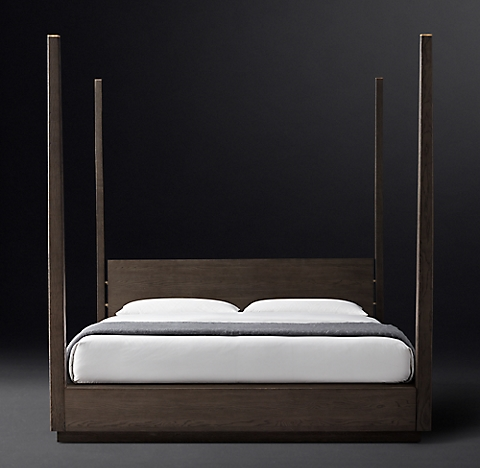Modern Four Poster Beds all canopy & four-poster beds | rh modern