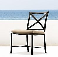 Carmel Arm Side Bar Counter Chair Cushion