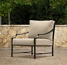 Carmel Luxe Lounge Chair Cushions