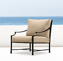Carmel Luxe Lounge Chair Cushions