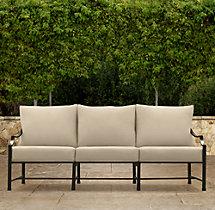 """75"""" Carmel Luxe Sofa Cushions"""