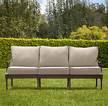 "75"" Antibes Luxe Sofa Cushions"