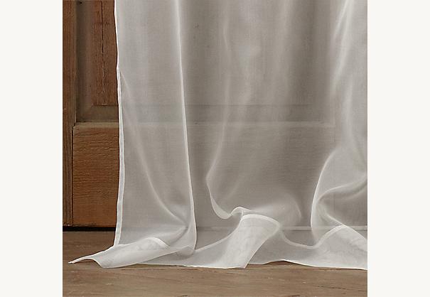 Silk Organza Drapery