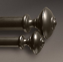 Custom Estate Metal Trenton Finials