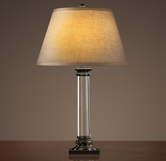 Chelsea Column Table Lamp Bronze
