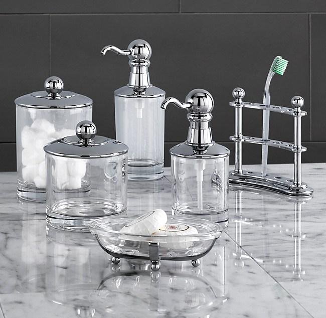 vintage bath accessories