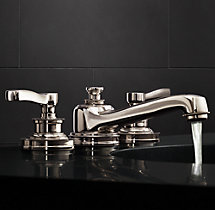 Asbury 8 widespread faucet for Restoration hardware bathroom faucets