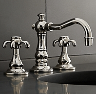 Bistro Cross Handle 8 Widespread Faucet