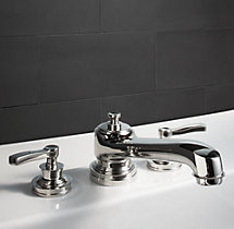 Asbury Lever-Handle Deck-Mount Roman Tub Faucet Set