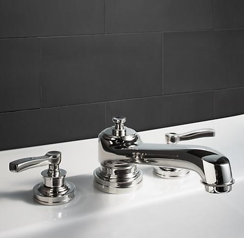 Bathroom Faucets Restoration Hardware asbury - polished nickel | rh