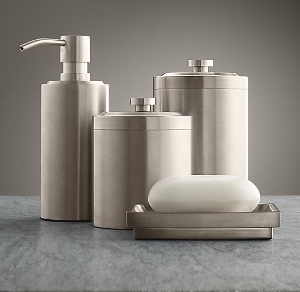 Spritz bath accessories for Restoration hardware bathroom accessories