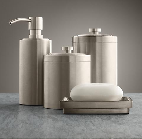 Bathroom Accessories Restoration Hardware countertop accessories | rh