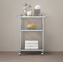 Newbury Rolling Bath Cart
