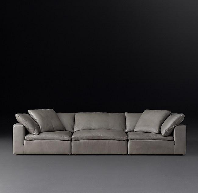 Cloud Modular Leather Sofa