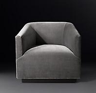 1950s Italian Shelter Arm Chair