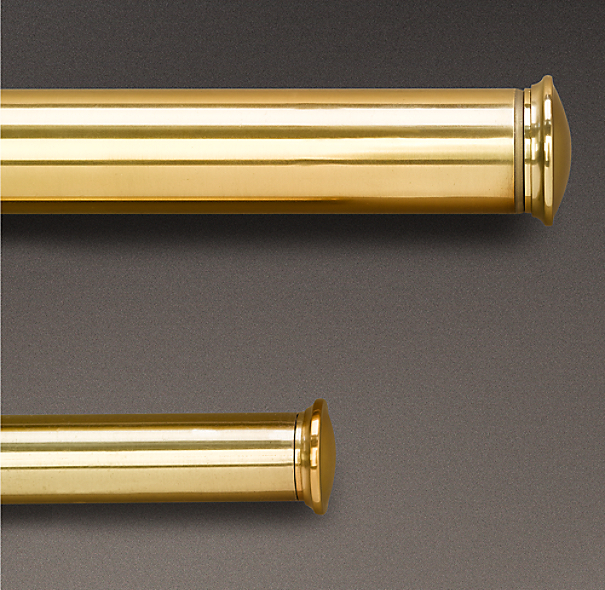 estate extension rod brass