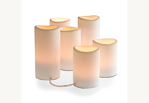 Pillar Candle Light String