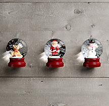 Mini Snow Globes (Set of 3)