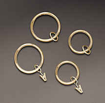 Estate Rings - Brass (Set of 7)
