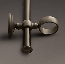 Estate Double-Rod Conversion Kit - Oil-Rubbed Bronze