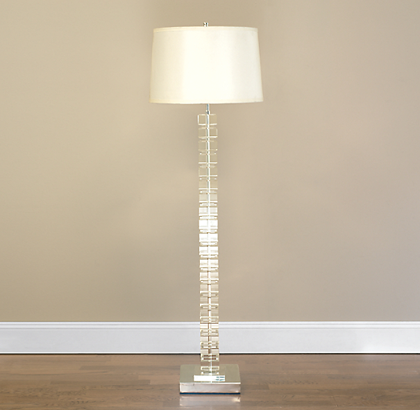 Place The Crystal Floor Lamp Properly
