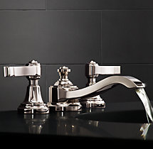 "Campaign Lever-Handle 8"" Widespread Faucet"