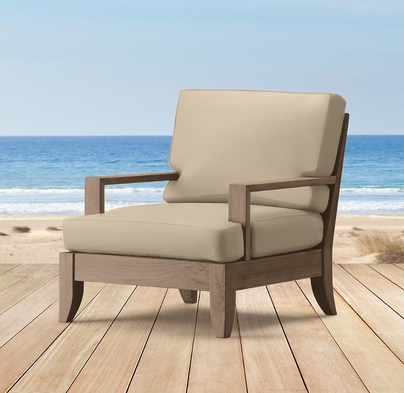 Santa Barbara Lounge Chair Cushions