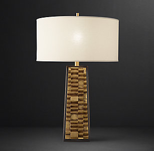 All table lighting rh brutalist constructivist table lamp aloadofball Image collections