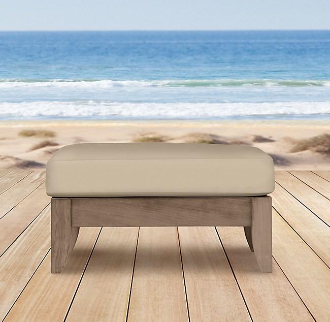 Santa Barbara Ottoman Cushion
