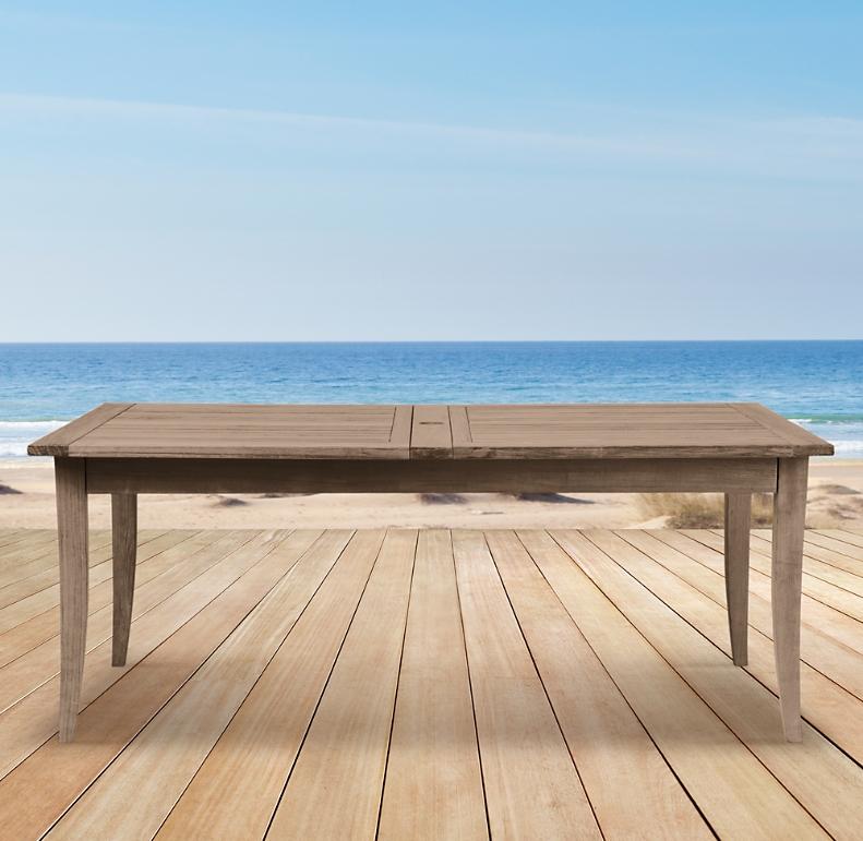 Santa Barbara Rectangular Extension Table