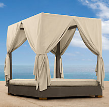 Del Mar Daybed Drapes
