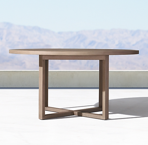 Dining Tables RH - Rh concrete table