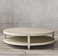 Graydon Shagreen Round Coffee Table