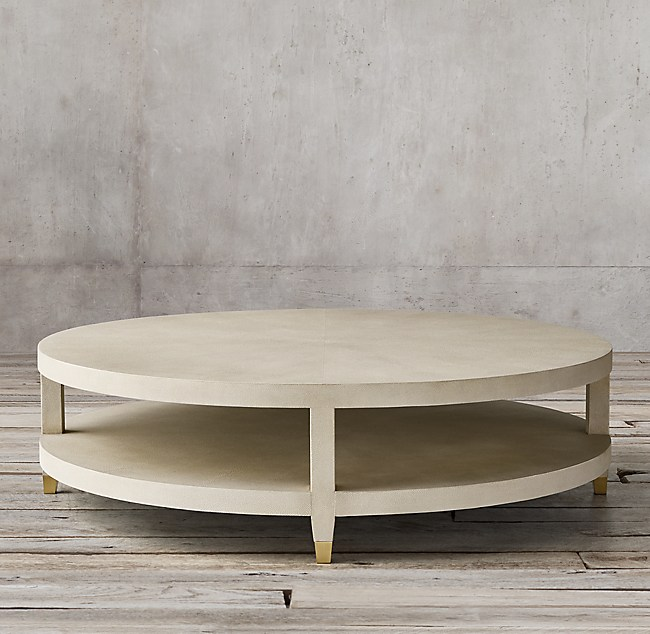 Round Coffee Table Restoration Hardware 7