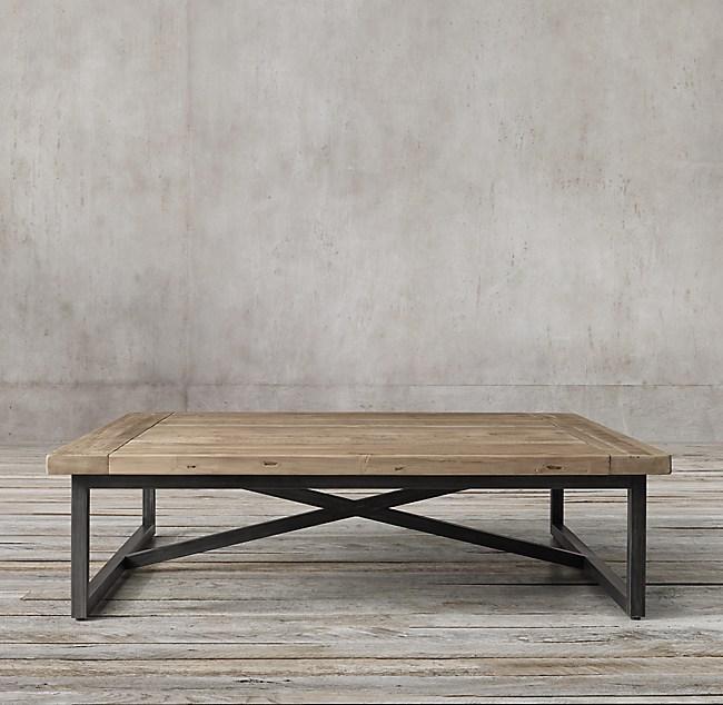 Torano Salvaged Square Coffee Table
