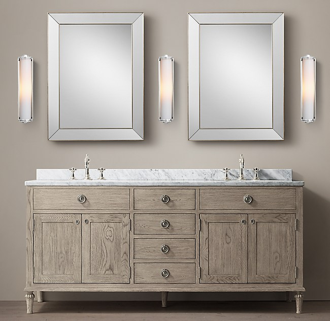 Restoration Hardware Bathroom Vanity Best Home Design 2018