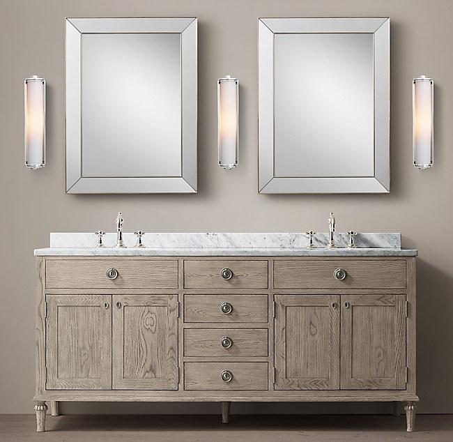 Restoration hardware bathroom vanity best home design 2018 for Restoration hardware vanities bath