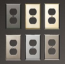 Metal Single Socket Plate