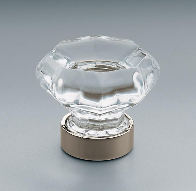 Clear Glass Knob