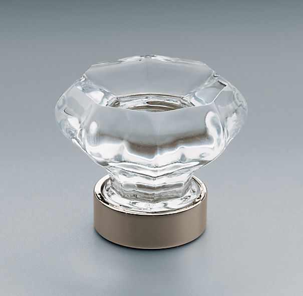 Kitchen Cabinet Handles Restoration Hardware: Traditional Clear Glass Knob